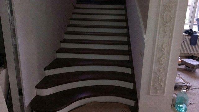 Заказать лестницу на второй этаж 15