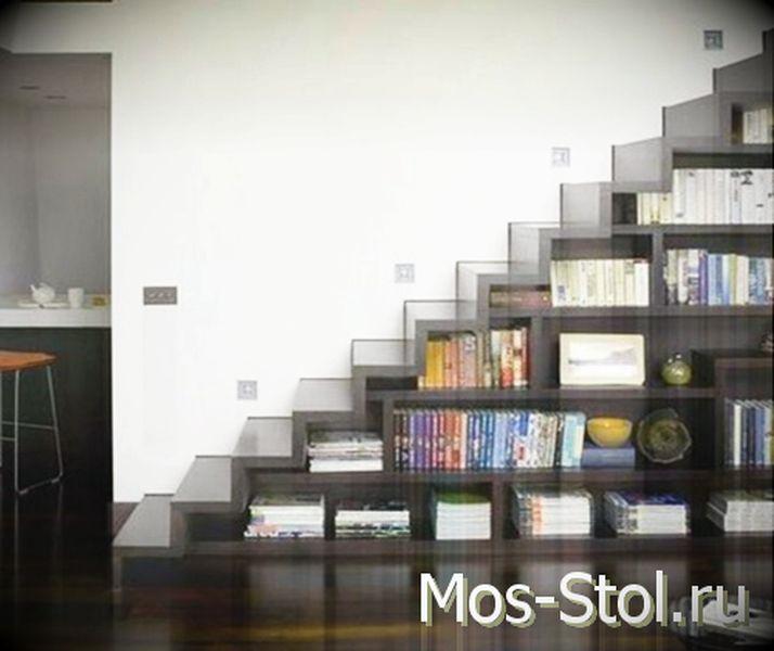Шкаф под лестницей 17