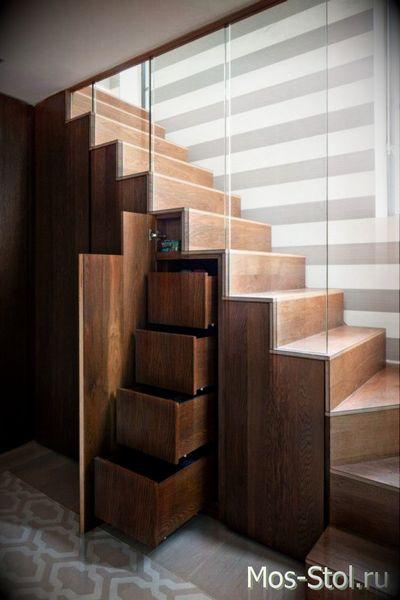 Шкаф под лестницей 2