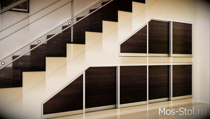Шкаф под лестницей 20