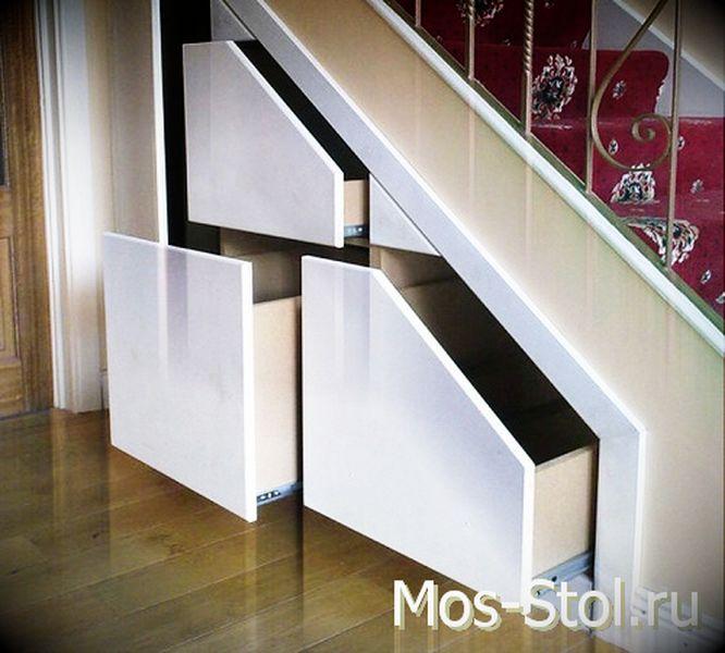 Шкаф под лестницей 29