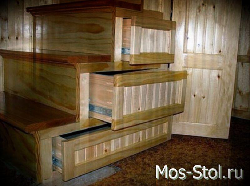 Шкаф под лестницей 32
