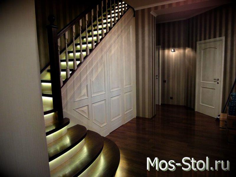 Шкаф под лестницей 5