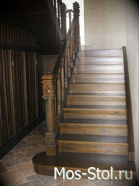 Шкаф под лестницей 8