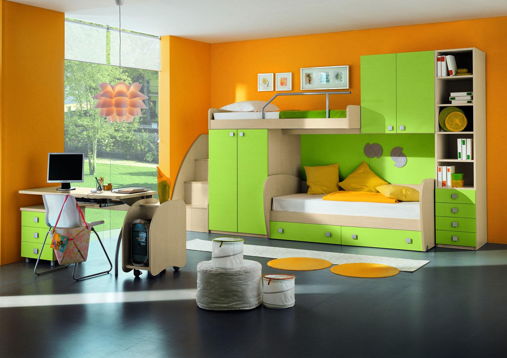 Детская комната с оригинальным дизайном