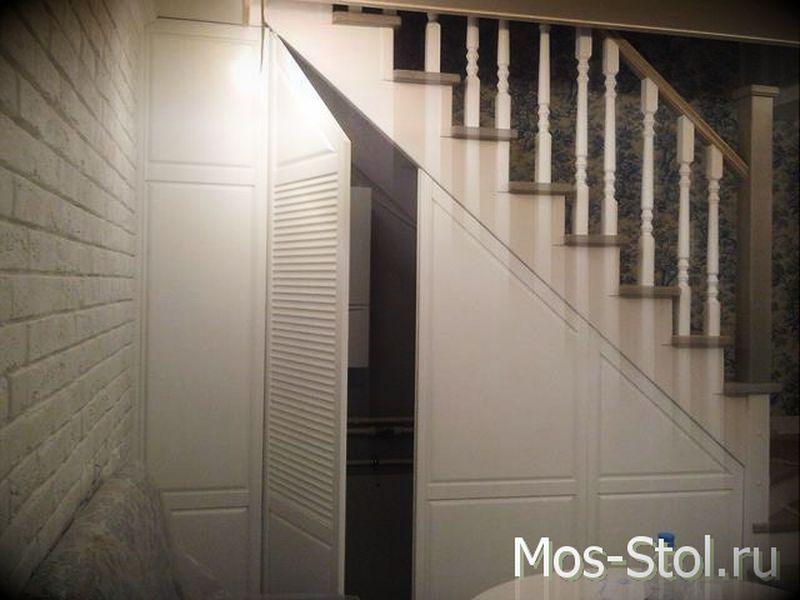 Шкаф под лестницей — 9