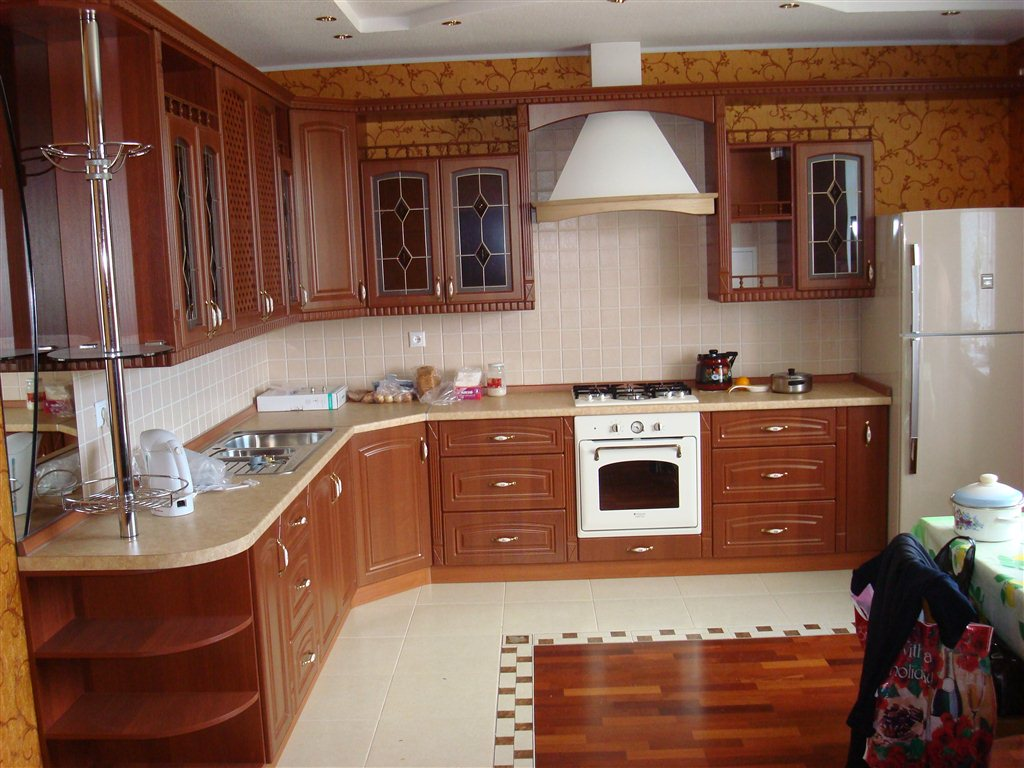 Кухня из МДФ по проекту заказчика
