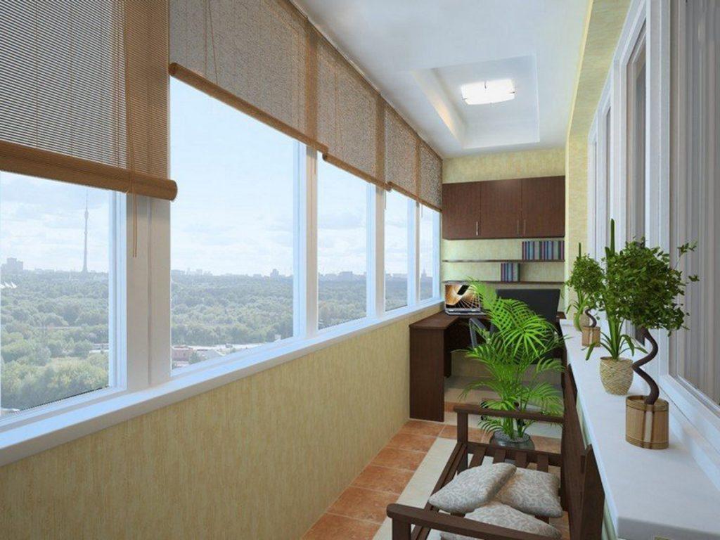 Цены на отделку балкона